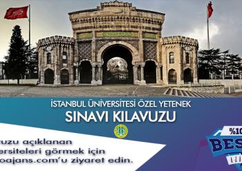 İstanbul Üniversitesi Spor Bilimleri Fakültesi Sınavı