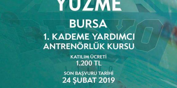 Yüzme Antrenörlük Kursu Bursa