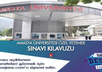 Amasya Üniversitesi Besyo Özel Yetenek Sınavı