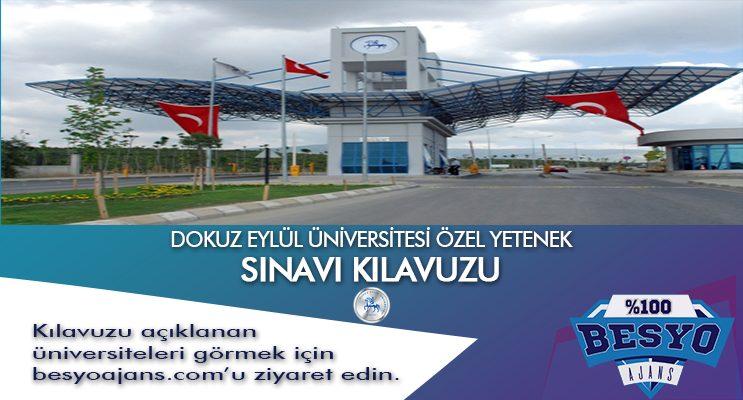 İzmir Dokuz Eylül Üniversitesi Besyo Özel Yetenek Sınavı