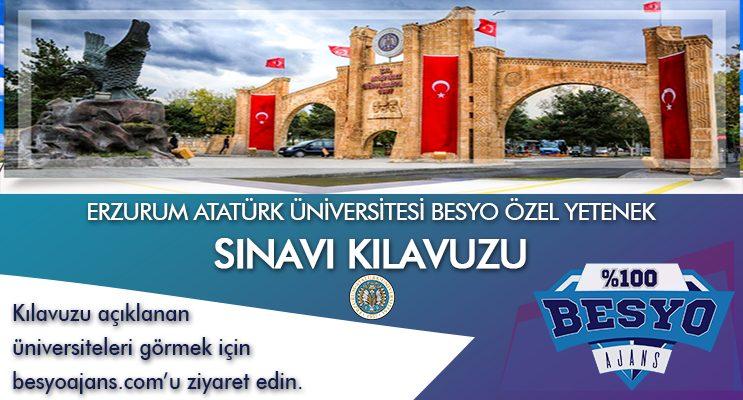 Erzurum Atatürk Üniversitesi Besyo Özel Yetenek Sınavı