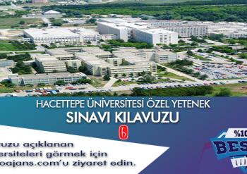 Hacettepe Üniversitesi Besyo Özel Yetenek Sınavı