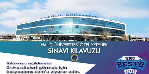 Haliç Üniversitesi Besyo Özel Yetenek Sınavı