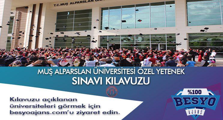 Muş Alparslan Üniversitesi Besyo Özel Yetenek Sınavı