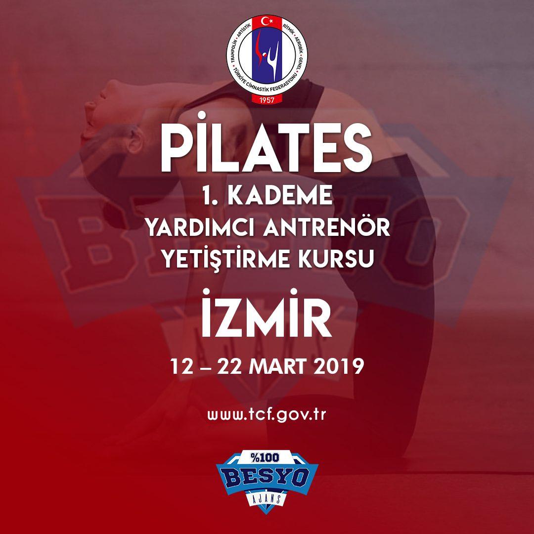 Pilates 1. Kademe Antrenör Yetiştirme Kursu