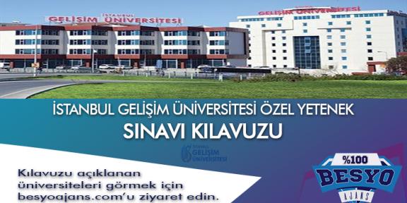 İstanbul Gelişim Üniversitesi Besyo Özel Yetenek Sınavı