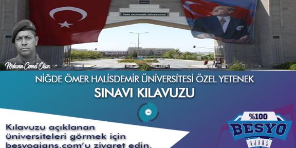 Niğde Ömer Halisdemir Üniversitesi Besyo Özel Yetenek Sınavı