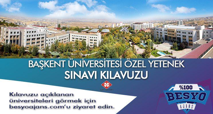 Başkent Üniversitesi Besyo Özel Yetenek Sınavı