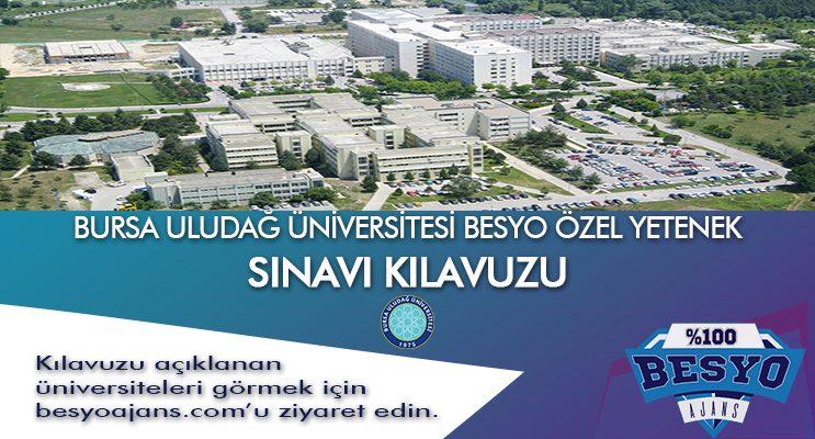 Uludağ Üniversitesi Besyo Özel Yetenek Sınavı