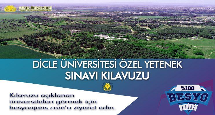 Diyarbakır Dicle Üniversitesi Besyo Özel Yetenek Sınavı