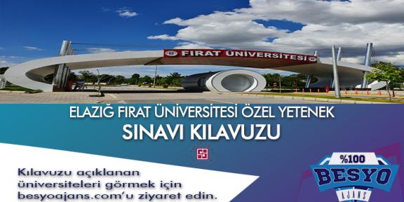 Elazığ Fırat Üniversitesi Özel Yetenek Sınavı