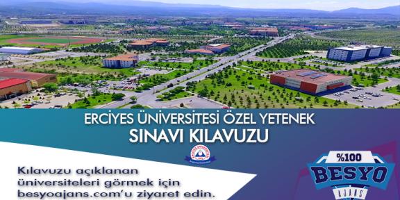 Kayseri Erciyes Üniversitesi Besyo Özel Yetenek Sınavı