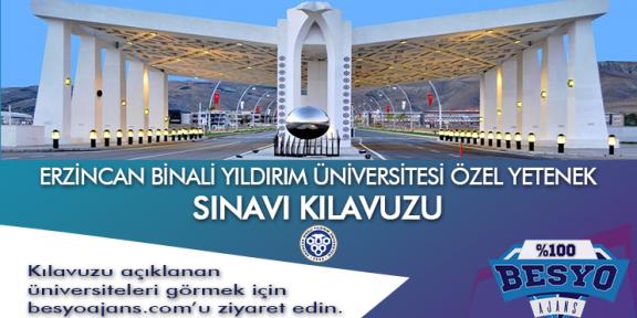 Erzincan Binali Yıldırım Üniversitesi Besyo Özel Yetenek Sınavı