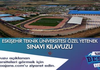 Eskişehir Teknik Üniversitesi Besyo Özel Yetenek Sınavı