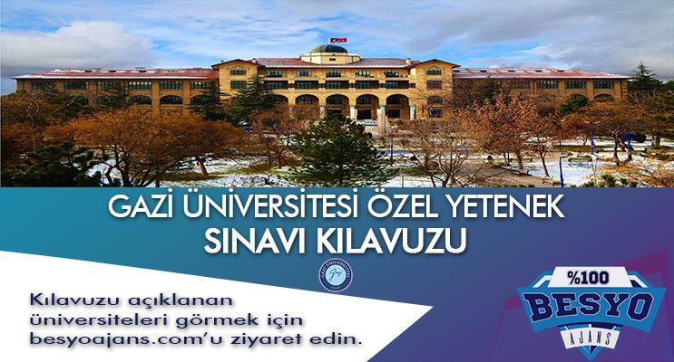 Gazi Üniversitesi Spor Bilimleri Fakültesi Sınavı