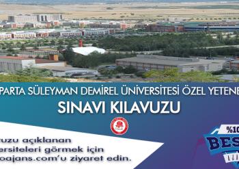 Isparta Süleyman Demirel Üniversitesi Besyo Özel Yetenek Sınavı
