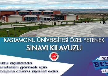 Kastamonu Üniversitesi Besyo Özel Yetenek Sınavı
