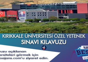 Kırıkkale Üniversitesi Besyo Özel Yetenek Sınavı