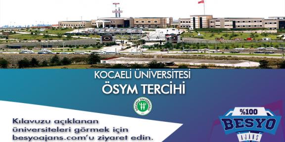 Kocaeli Üniversitesi BESYO ÖSYM TERCİHİ