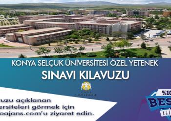 Konya Selçuk Üniversitesi Besyo Özel Yetenek Sınavı