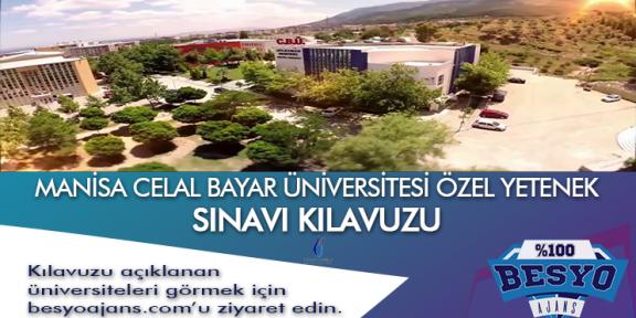 Manisa Celal Bayar Üniversitesi Besyo Özel Yetenek Sınavı