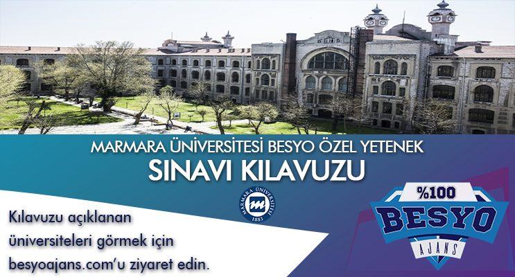 Marmara Üniversitesi Besyo Özel Yetenek Sınavı