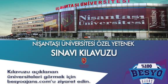 İstanbul Nişantaşı Üniversitesi Besyo Özel Yetenek Sınavı