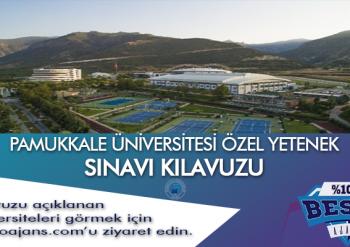 Denizli Pamukkale Üniversitesi Besyo Özel Yetenek Sınavı
