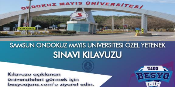 Samsun Ondokuz Mayıs Üniversitesi Besyo Özel Yetenek Sınavı