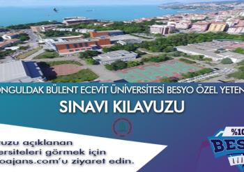 Zonguldak Bülent Ecevit Üniversitesi Besyo Özel Yetenek Sınavı