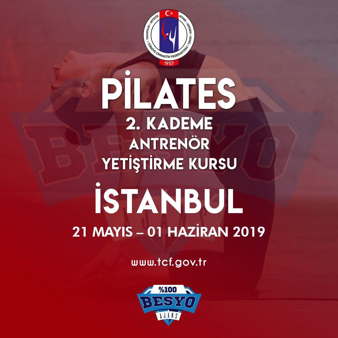 Pilates 2. Kademe ANTRENÖR YETİŞTİRME KURSU