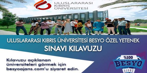 ULUSLARARASI KIBRIS ÜNİVERSİTESİ BESYO ÖZEL YETENEK